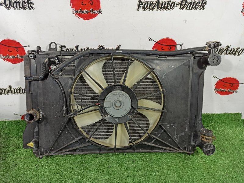 Радиатор двс Toyota Corolla NZE141 1NZFE (б/у)