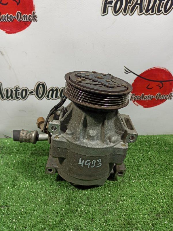 Компрессор кондиционера Mitsubishi Rvr N11W 4G91 (б/у)