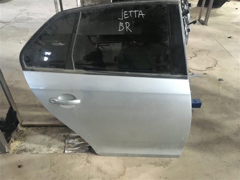Дверь Volkswagen Jetta 1K5 BSE 2010 задняя правая (б/у)