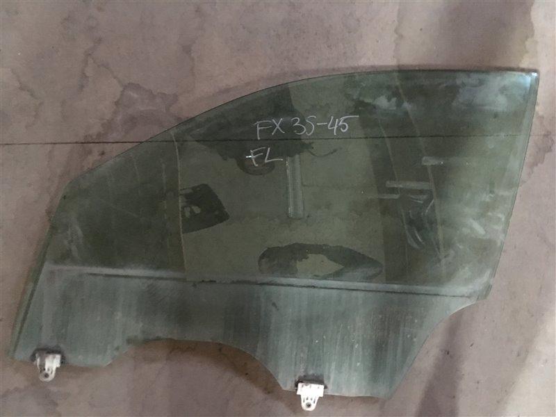 Стекло Infiniti Fx45 S50 VK45DE 2005 переднее левое (б/у)