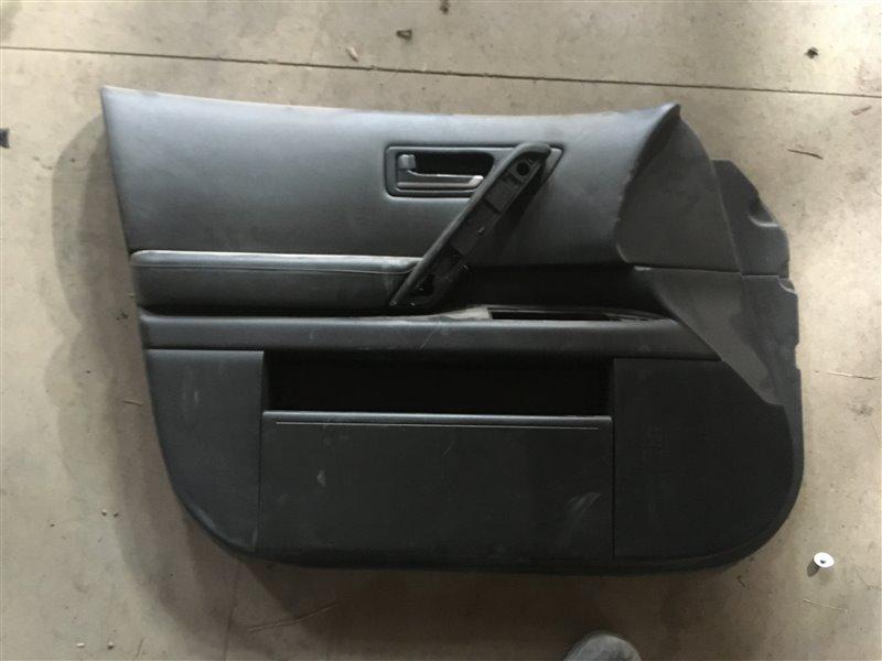 Обшивка двери Infiniti Fx45 S50 VK45DE 2005 передняя левая (б/у)