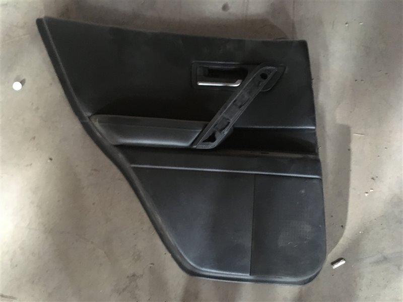 Обшивка двери Infiniti Fx45 S50 VK45DE 2005 задняя левая (б/у)