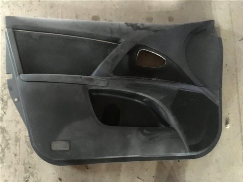 Обшивка двери Toyota Avensis ZRT271 1ZR-FAE 2009 передняя левая (б/у)