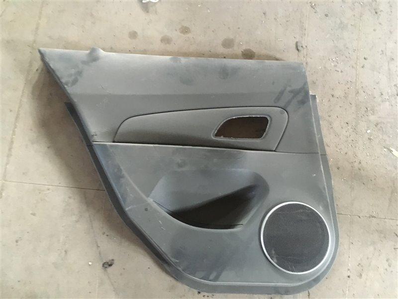 Обшивка двери Chevrolet Cruze задняя левая (б/у)