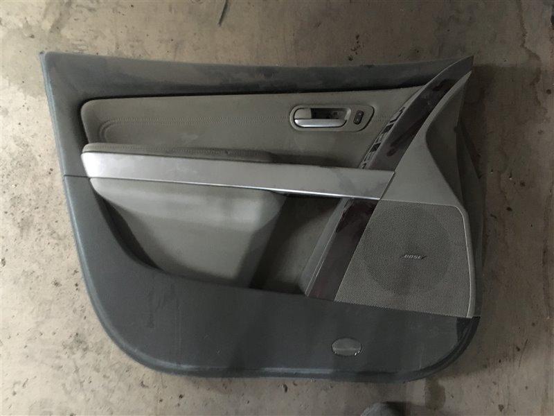 Обшивка двери Mazda Cx-9 TB CAY1 2008 передняя левая (б/у)