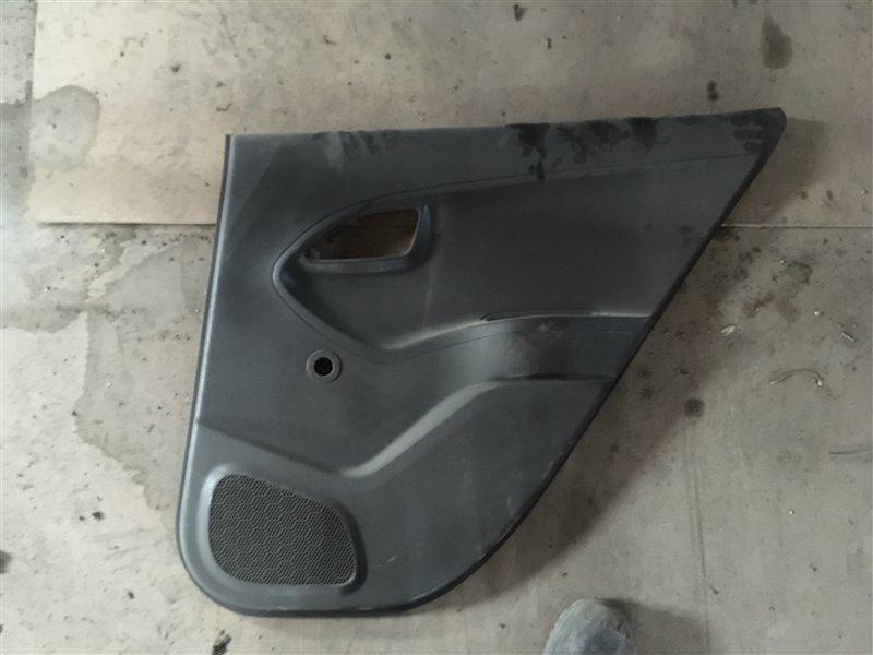 Обшивка двери Kia Picanto TA G3LA 2012 задняя правая (б/у)