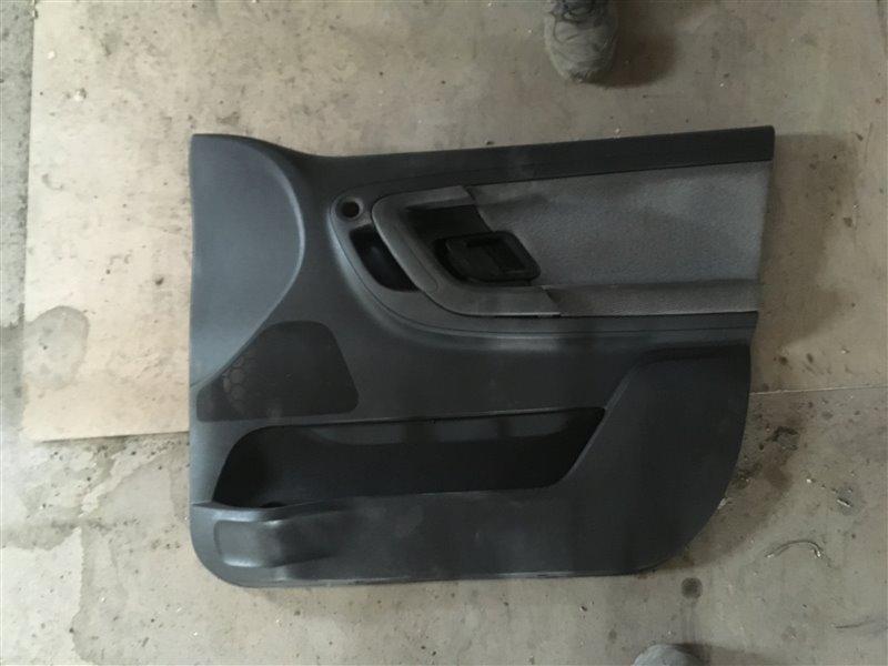 Обшивка двери Skoda Fabia 5J2 CGPC 2012 передняя правая (б/у)