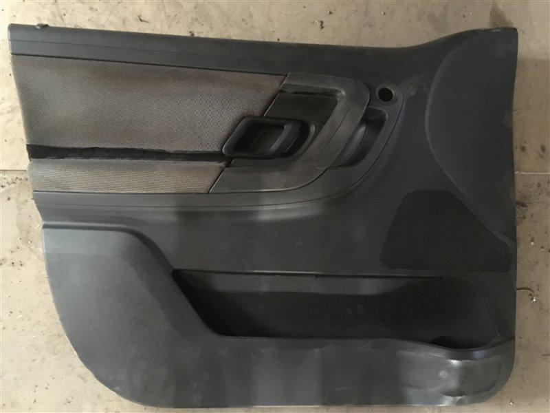 Обшивка двери Skoda Fabia 5J2 CGPC 2012 передняя левая (б/у)