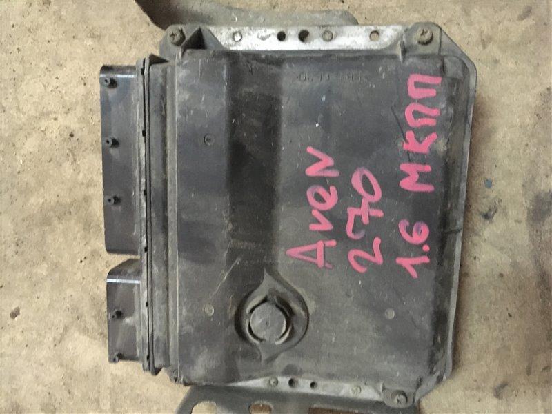 Блок управления двигателя Toyota Avensis ZRT271 1ZR-FAE 2009 (б/у)