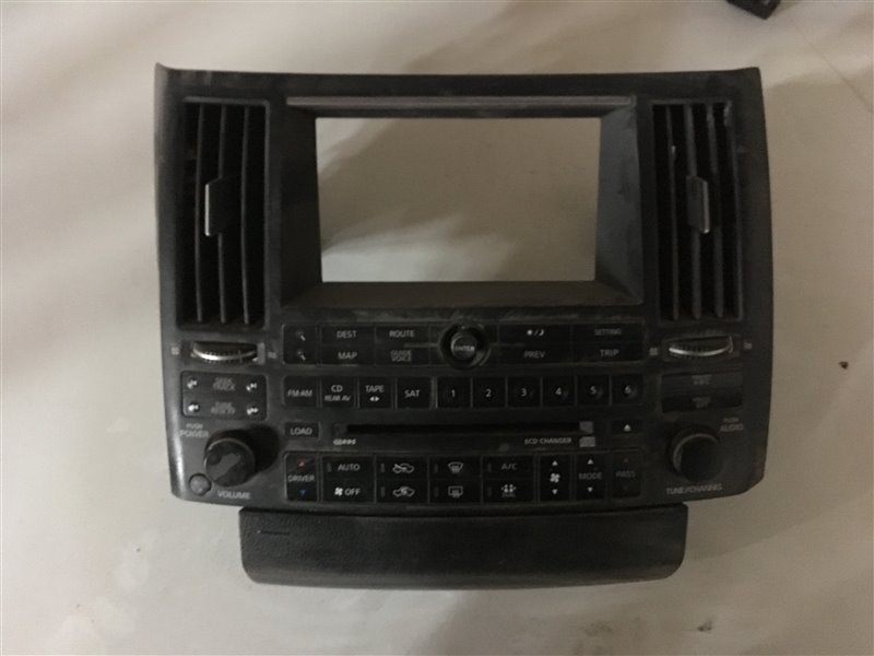 Блок управления климат-контролем Infiniti Fx45 S50 VK45DE 2005 (б/у)