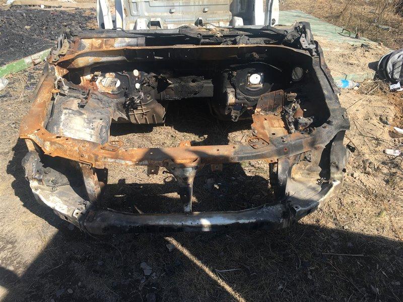 Передняя часть кузова Ssangyong Actyon Sports QJ D20DT 2012 передняя (б/у)