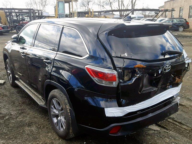 Авто на разбор Toyota Highlander ASU50L 2015 (б/у)