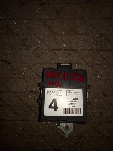 Блок управления дверьми Toyota Avensis ZRT271 1ZR-FAE 2009 (б/у)