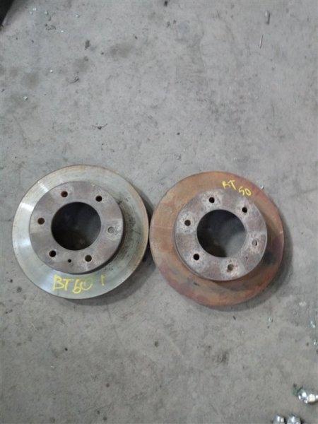 Тормозной диск Mazda Bt-50 UN8F1 WLAA 2009 передний (б/у)