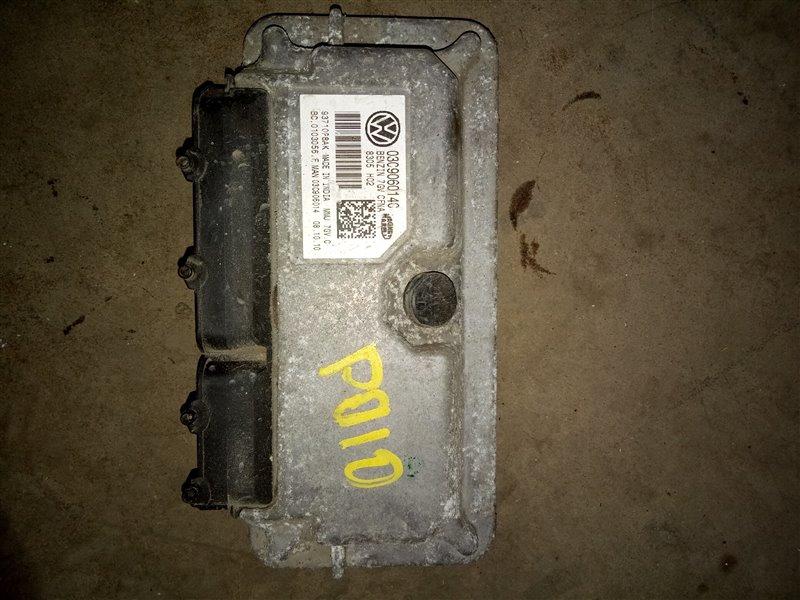 Блок управления двигателя Volkswagen Polo 612 CLSA 2011 (б/у)