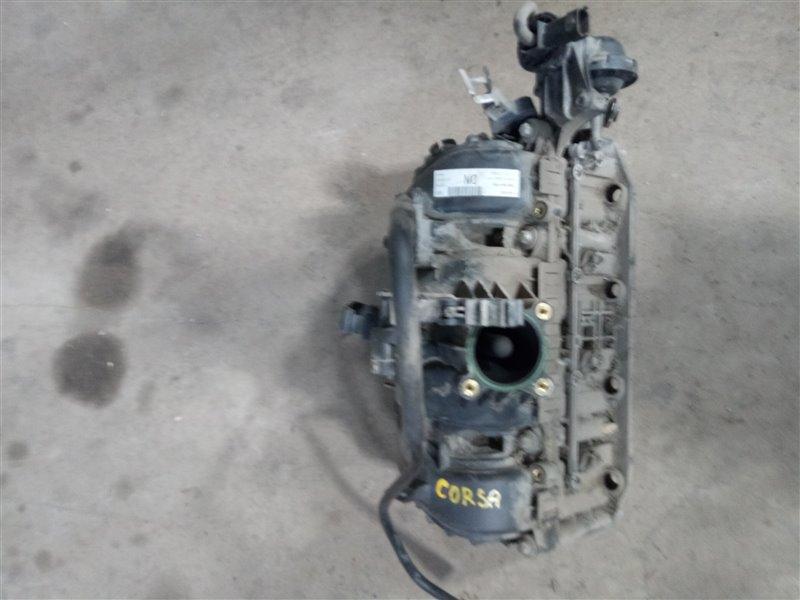 Коллектор впускной Opel Corsa D Z12XER 2007 (б/у)