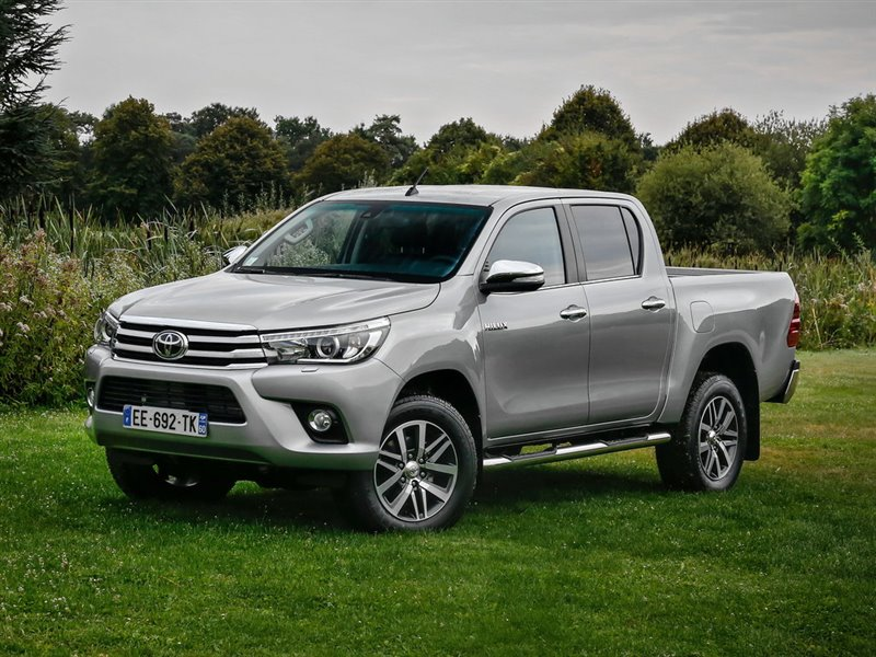 Авто на разбор Toyota Hilux Pick Up GUN126L 2017 (б/у)