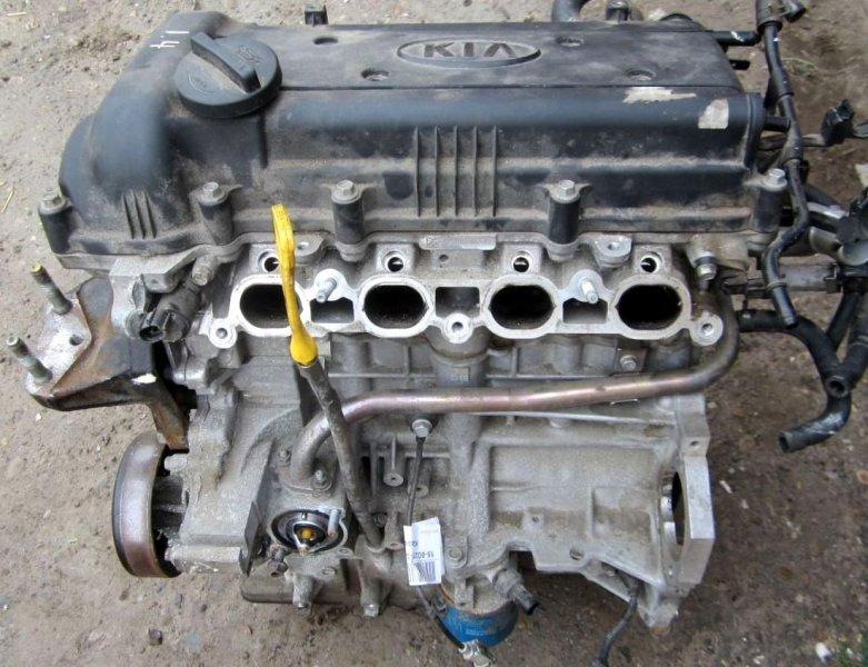 Двигатель Hyundai I30 GD G4FA 2014 (б/у)