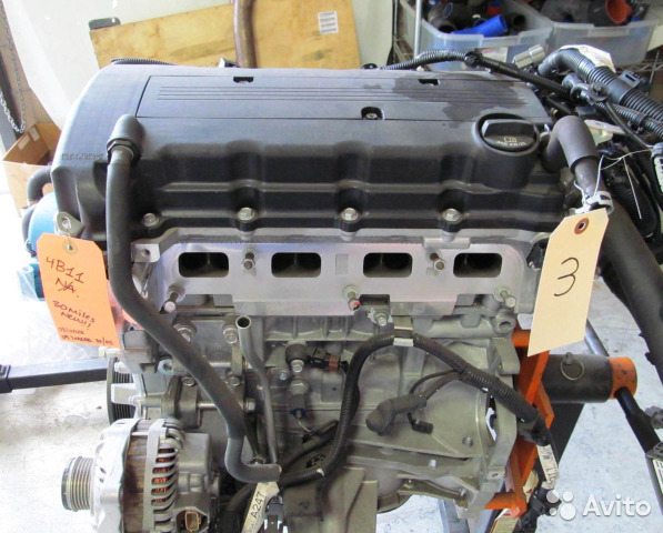 Двигатель Mitsubishi Asx GA2W 4B11 2012 (б/у)
