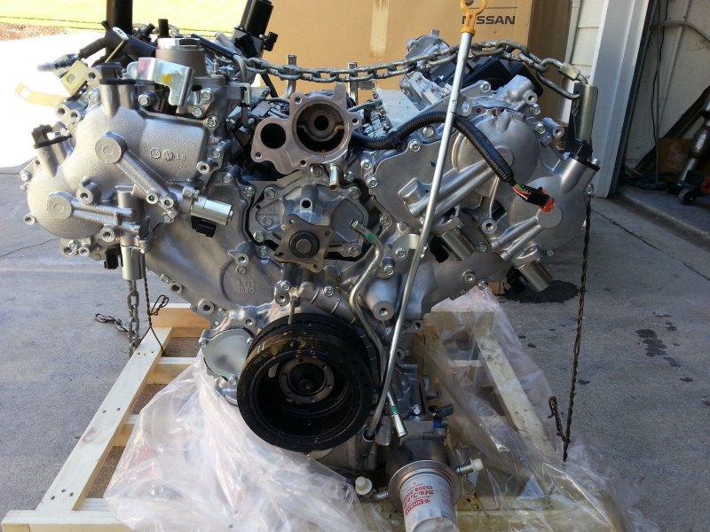 Двигатель Nissan Patrol Y62 VK56DE 2013 (б/у)