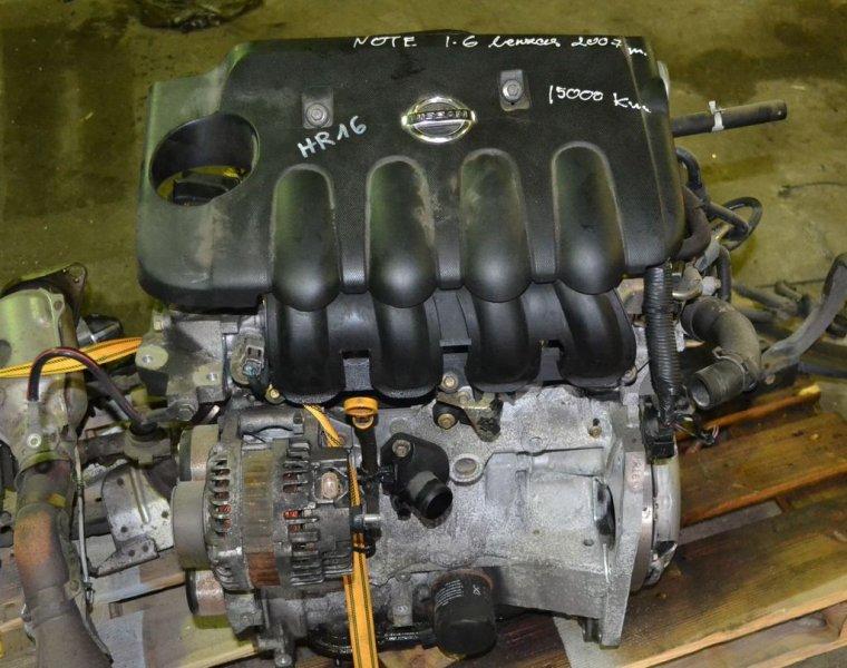 Двигатель Nissan Qashqai J10 HR16DE 2013 (б/у)