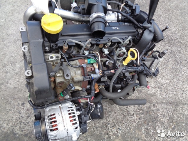 Двигатель Nissan Qashqai J10 K9K 2010 (б/у)