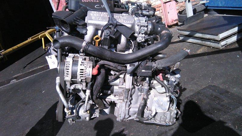 Двигатель Nissan Qashqai J11 HR12DDT 2017 (б/у)