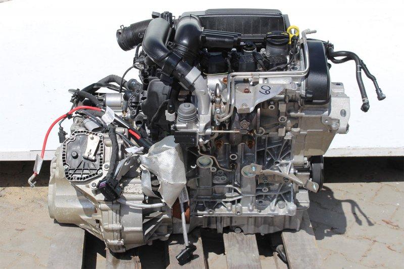 Двигатель Skoda Octavia A7 5E CJZA 2016 (б/у)