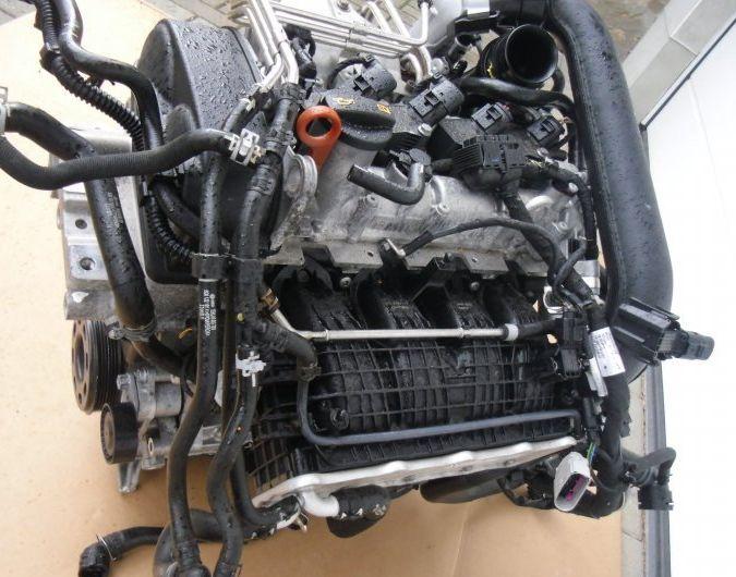 Двигатель Skoda Octavia A7 5E CHPA 2016 (б/у)