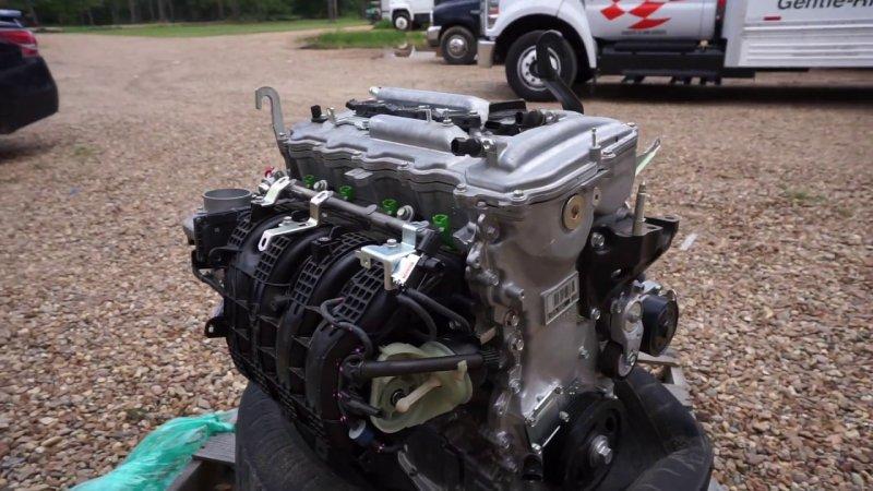 Двигатель Toyota Camry ACV50 2AR-FE 2012 (б/у)