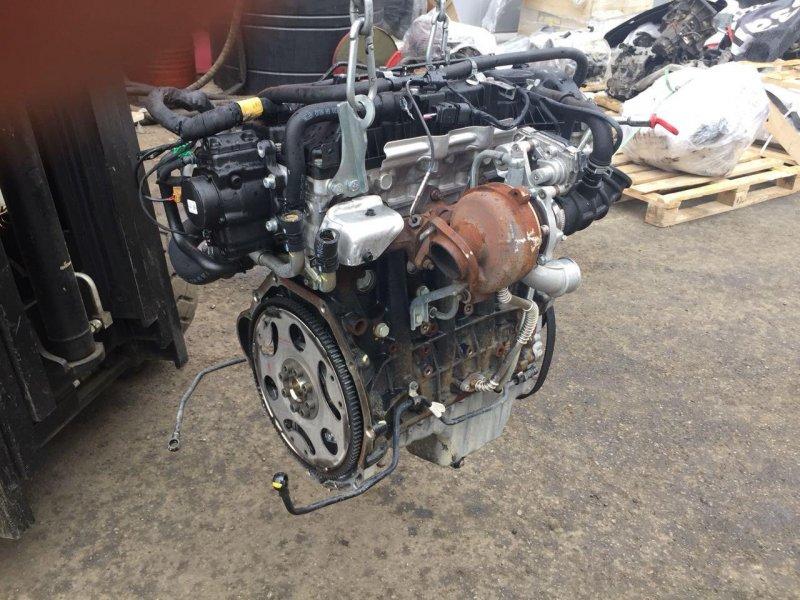 Двигатель Ssangyong Actyon Sports QJ D20DTR 2014 (б/у)