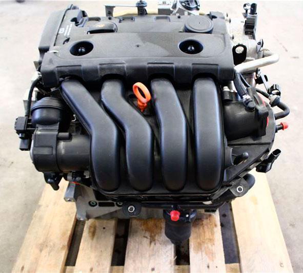 Двигатель Volkswagen Jetta 1K2 BLR 2009 (б/у)