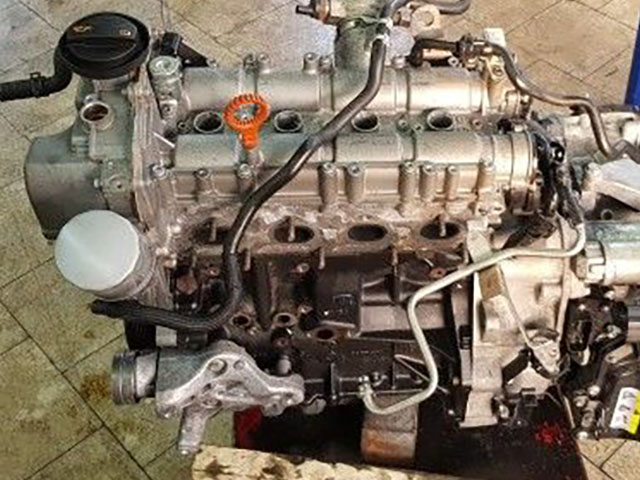 Двигатель Volkswagen Jetta 162 CAVA 2014 (б/у)