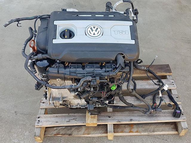 Двигатель Volkswagen Passat Cc 358 CCZB 2011 (б/у)
