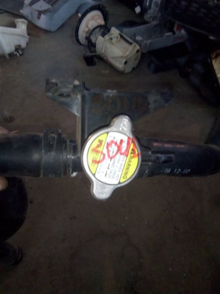 Горловина радиатора Kia Soul AM G4FC 2009 (б/у)