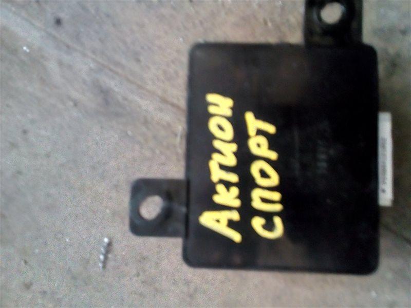 Блок управления парктроником Ssangyong Actyon Sports QJ D20DT 2012 (б/у)