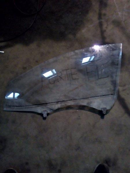 Стекло Kia Forte TD G4FC 2009 переднее левое (б/у)