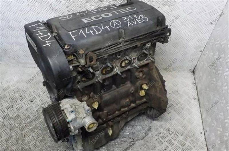 Двигатель Chevrolet Aveo T250 F14D4 2011 (б/у)