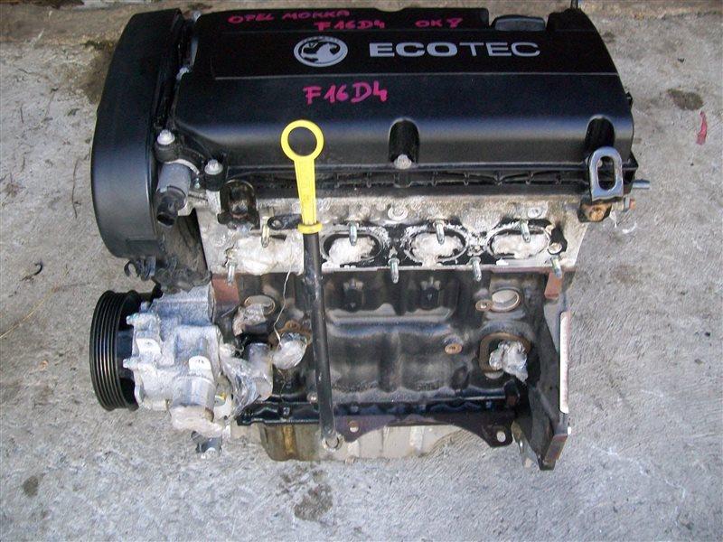 Двигатель Chevrolet Aveo T300 F16D4 2014 (б/у)