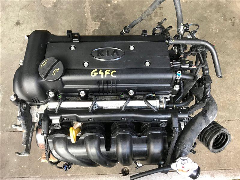 Двигатель Kia Venga G4FC 2015 (б/у)
