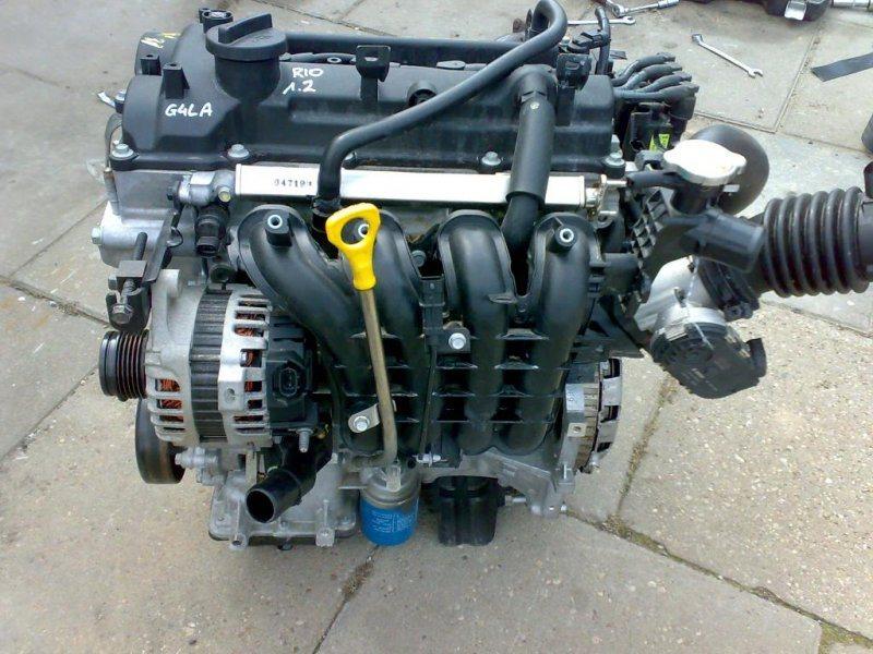 Двигатель Kia Rio G4LA 2013 (б/у)