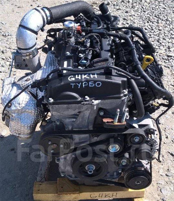 Двигатель Hyundai Santa Fe G4KH 2016 (б/у)