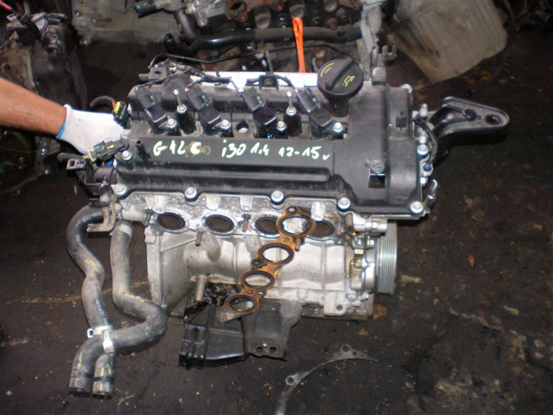 Двигатель Hyundai Solaris G4LC 2017 (б/у)