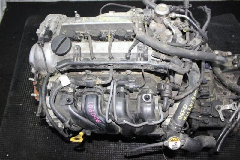 Двигатель Kia Soul G4FD 2014 (б/у)
