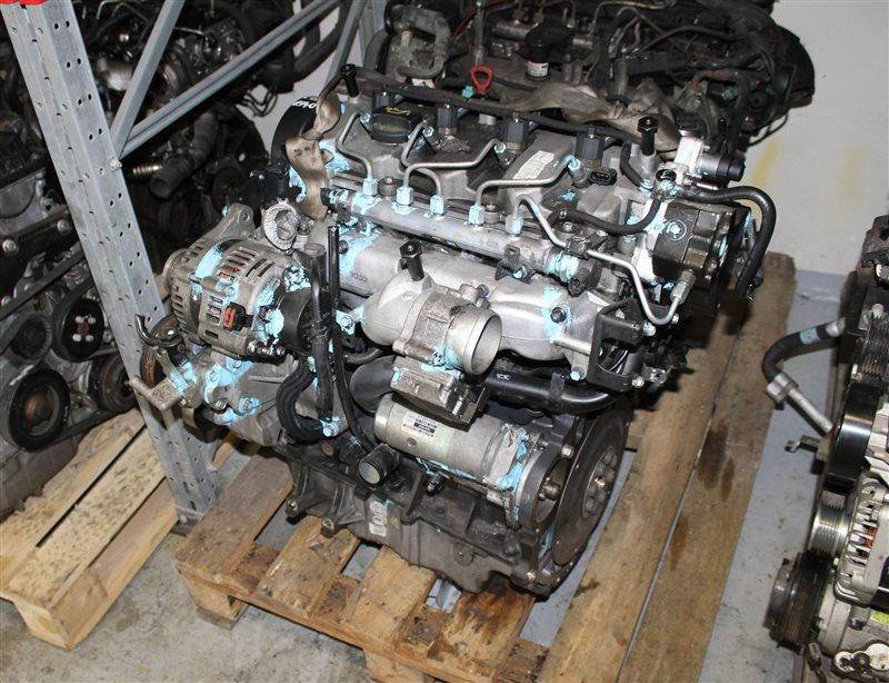 Двигатель Hyundai Tucson D4EA 2007 (б/у)