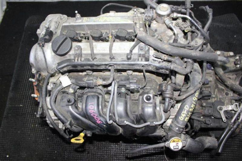 Двигатель Hyundai Tucson G4FD 2017 (б/у)