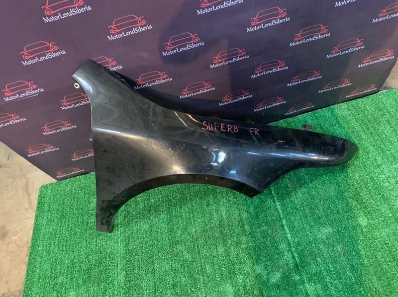 Крыло Skoda Superb 3T CDAB 2010 переднее правое (б/у)