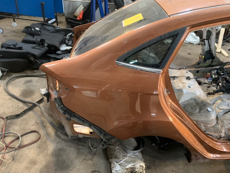 Крыло Ford Fiesta MK6 HXJE 2017 заднее правое (б/у)