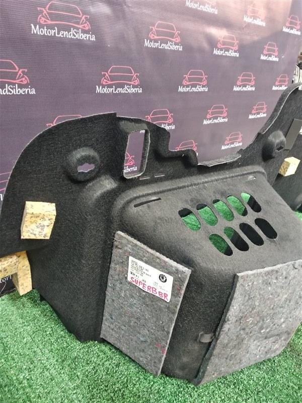 Обшивка багажника Skoda Superb 3T CDAB 2010 правая (б/у)