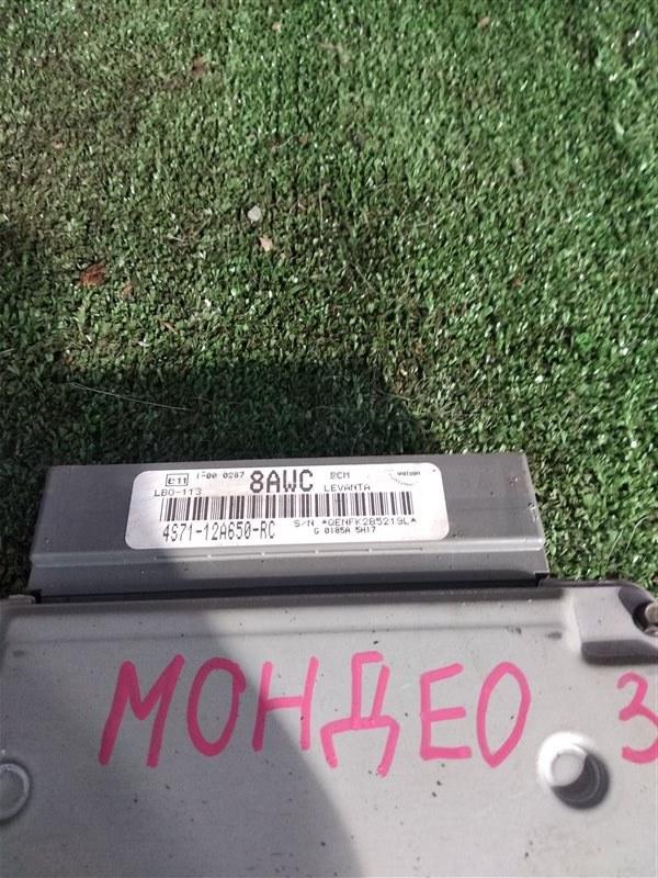 Блок управления двигателя Ford Mondeo CJBA 2005 (б/у)